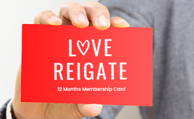 Love Reigate Membership Card